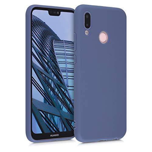 kwmobile Carcasa para Huawei P20 Lite - Funda para móvil en TPU Silicona - Protector Trasero en Lila Claro