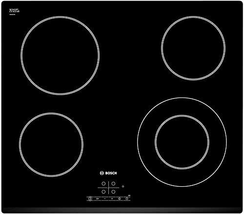 Bosch PKF631B17E Serie I 4 - Placa de cocina vitrocerámica de 60 cm de ancho, terminación bisel...