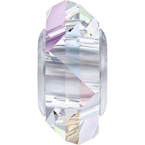 Cristaux de Swarovski 5025511 Perles Cristal 5929 MM 14,0 Crystal Steel, 12 Pièces