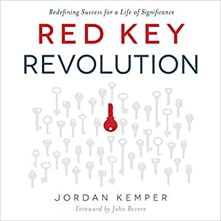Red Key Revolution audiobook cover art