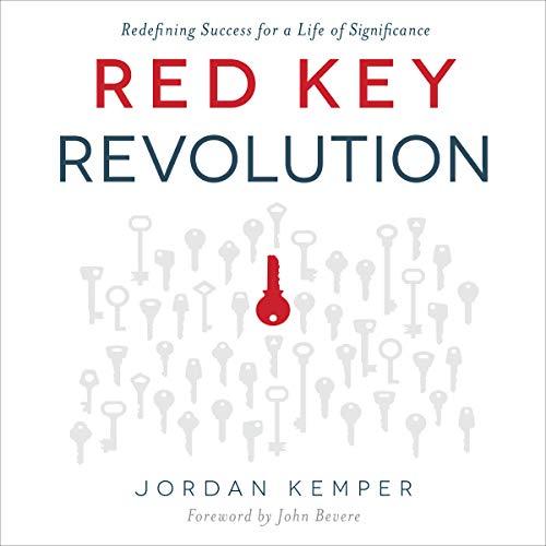 Red Key Revolution audiobook cover art