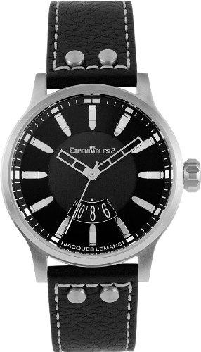 Jacques Lemans - Reloj analógico Unisex de Cuero Multicolor