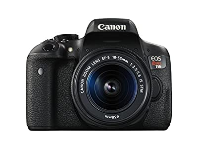 Canon EOS Rebel T6i Digital SLR with EF-S 18-55mm IS STM Lens - Wi-Fi Enabled from Canon