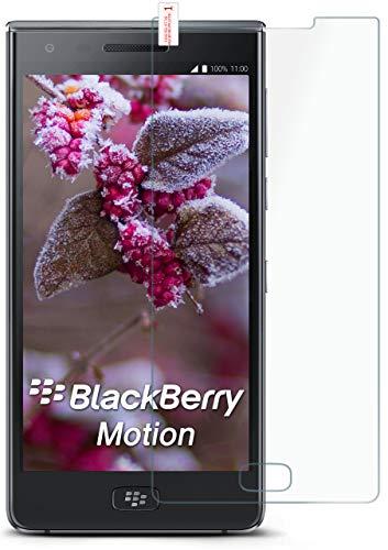 MoEx® Matte Panzerglasfolie aus 9H Echtglas passend für das BlackBerry Motion | Kratzfest, Entspiegelnd + Reduziert Fingerabdrücke
