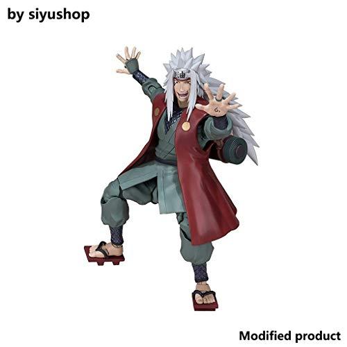 Siyushop Figura De Acción De Naruto Jiraiya - Figura De Acción De Naruto Shippuden - Alta 16CM