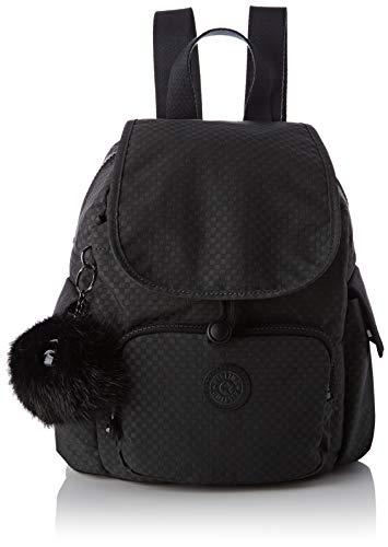 Kipling Damen City Pack Mini Rucksack, Schwarz (Powder Black), 27x29x14 Centimeters
