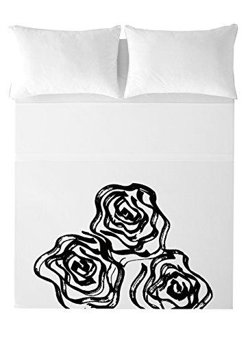 Devota & Lomba Rosas Juego de sábanas, Algodón, Multicolor, 180 x 200 cm