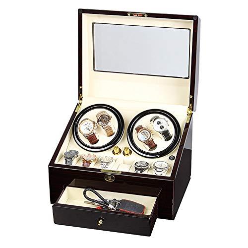 Caja de cuerda automática, agitador de reloj, interruptor de reloj, caja de reloj automático de reloj mecánico, interruptor de reloj doméstico, agitador de reloj, rotador de 4 + 6 posiciones de relo
