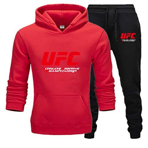Tweedelig sportpak met capuchon, joggingpak, joggingpak met capuchon, herfst, merk hoodies + broek vrij voor mannen van E, L