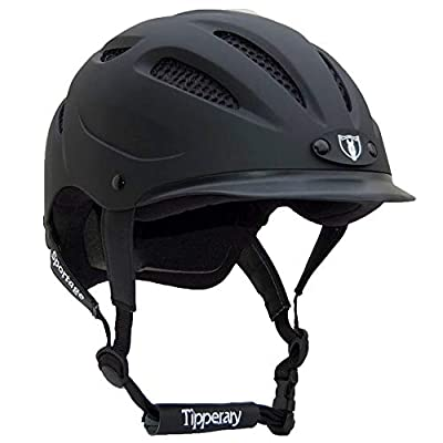 Tipperary Sportage 8500 Riding Helmet LG Black Mat from PHOENIX PERFORMANCE PRODUCTS