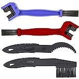 MMOBIEL Kit Herramientas de limpieza y mantenimiento de Motocicleta con 4 cepillos para ca...