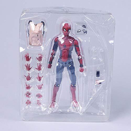 ZHAOHUIFANG Spider-Man Modelo Articulado Niño Colección Regalo Estatua (15 Cm De Altura)