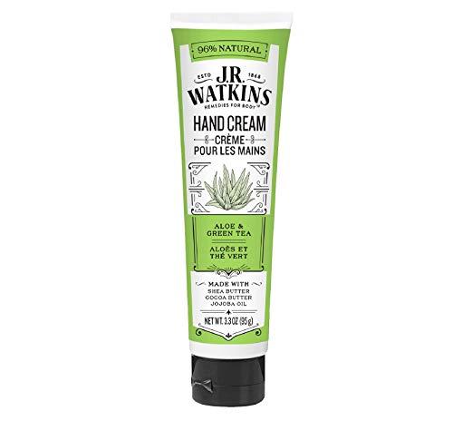 J.R. Watkins: Shea Butter Hand Cream, Aloe & Green Tea 3.3 oz (2 pack)