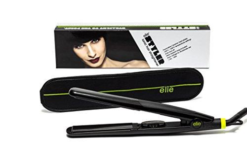 Elie - Plancha de pelo ligera, con bolsa resistente al calor (Profesional)