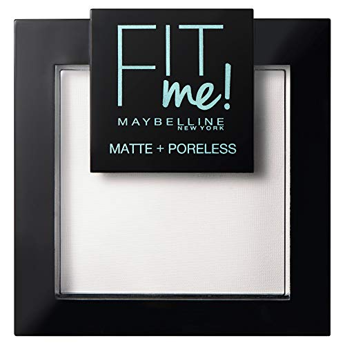 Maybelline New York FitMe Matt und Poreless Puder 90 Translucent 1er Pack(1 x 9 g)