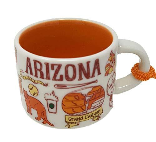 Starbucks Arizona Been There Series Espresso Mug Ornament 2oz Cup