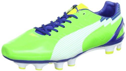 Puma - Botas de fútbol para hombre, Verde (Grün (jasmine green-white-monac 06)), 10.5 UK - 45.0 EU
