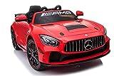 Babycar Mercedes GT4 AMG ( Rossa ) Nuova Versione Macchina Elettrica...