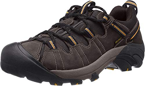 KEEN Men's Targhee II Hiking Shoe,  Raven/Tawny...