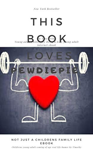 This Book Loves Pewdiepie: in Tiny Print (English Edition)