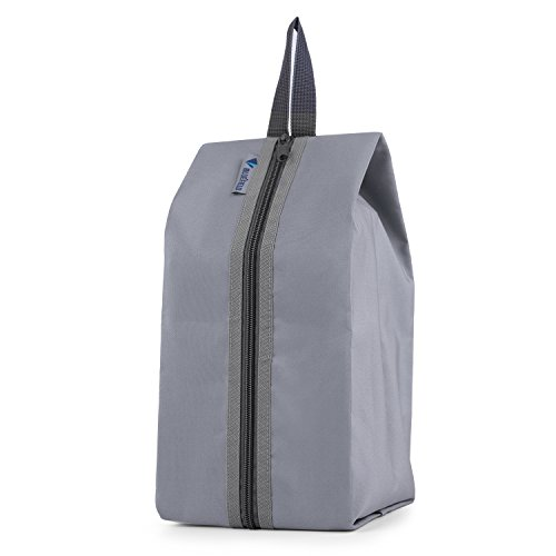 OUTAD Bolsa Portátil Impermeable de Zapatos / Organizador Viaje - con Asas Gran Espacio - Gris