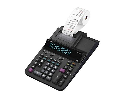 CASIO Druckender Tischrechner FR-620RE, 12-stellig, 2-Farbdruck, Steuerberechnung, Gesamtsummen-Speicher, Netzbetrieb