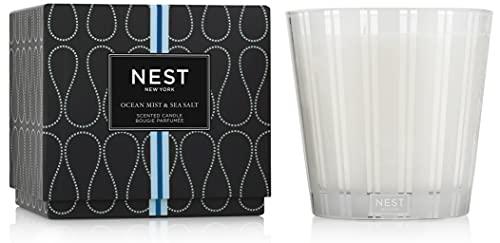 NEST Fragrances Ocean Mist & Sea Salt Luxury Candle