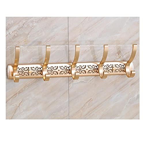 4pcs espacio de aluminio oro plata púrpura hueco tallado retro creativo de pared de pared de pared con gancho de la decoración de la decoración-C2 simple y elegante combina con el estilo moderno
