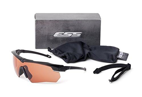ESS Eyewear Crossbow Suppressor ONE Kit 740-0472,Black