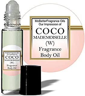 Mobetter Fragrance Oils' Our Impression of C O C O Mademoiselle (W) Women Fragrance Perfume Body Oil