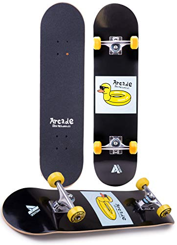 SMJ Kinder Skateboard 61 cm Skate Board ABEC Komplettboard Longboard Funboard