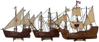 Buy Santa Maria, Nina & Pinta Set - Christopher Columbus Ship - Historic Model Ship Set - Nautical Decoration - Nautical Gift - Model Tall Ships - Handcrafted Model Boats - Sold Fully Assembled - Not A Model Ship Kit