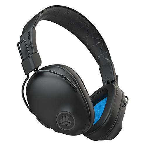 JLab Studio Pro Bluetooth Wireless Over-Ear Headphones | 50+ Hour Bluetooth 5 Playtime | EQ3 Sound | Ultra-Plush Faux Leather & Cloud Foam Cushions | Track and Volume Controls | Black