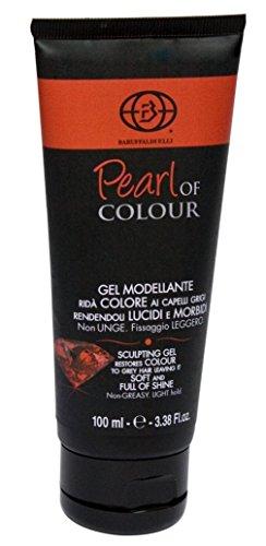 Gel Modelant, Colorant Anti-Cheveux Blancs 100 ml - Pearl of Colour Fabriqué en Italie