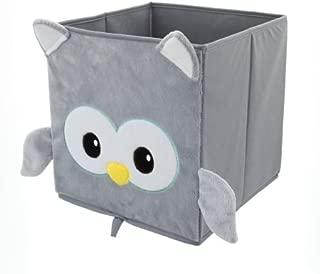 Mainstays Collapsible Storage Bin, Grey Owl