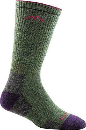 Darn Tough Cushion Boot Sock - Women's Moss Heather Medium