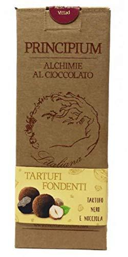 Trufas de fondant de chocolate italiano Principium y avellana - 1 x 150 gramos