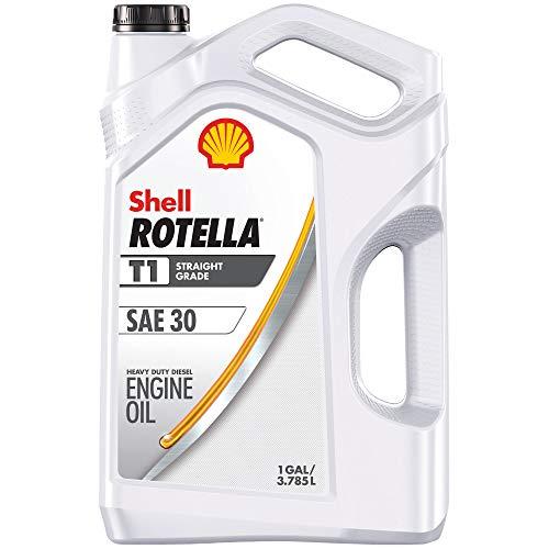 Rotella T1 30 CF/CF-2 Motor Diesel Oil, 1 Gallon - Pack of 1