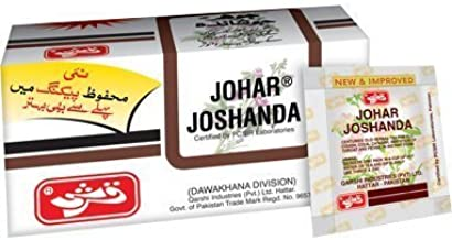 johar joshanda tea ingredients