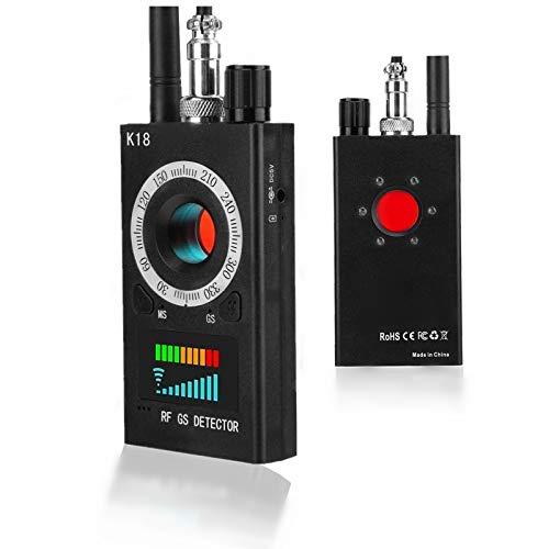 Detector Anti-espía, Detector de Señal GPS Inalámbrico Antirrobo Multifunción Detector de Señal Equipo de Posicionamiento Blindaje de Señal Detector(EU)
