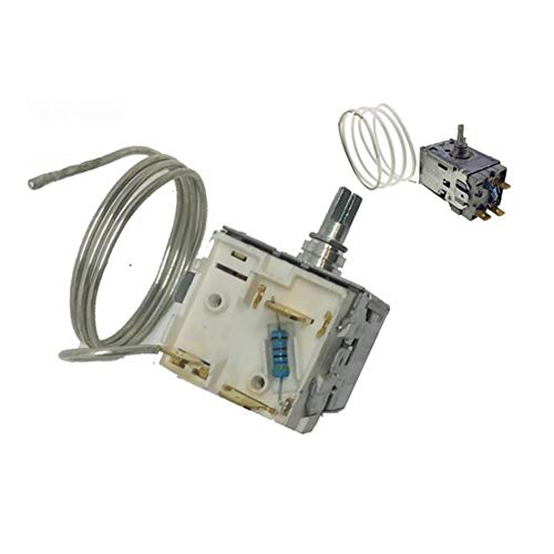 Termostato Frigo Atea A13.0447 Adattabile Whirlpool Smeg Ikea - capillare 600mm