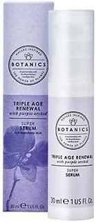 Botanics Triple Age Renewal Facial Serum 1.01 oz..(1 Pack)