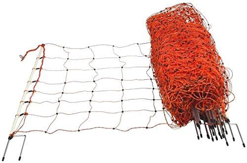 horizont Recinto per cani, rete per pecore │ Altezza 90 cm │ Lunghezza 50 m │ Doppia punta │ Rete per cani - rete elettrica