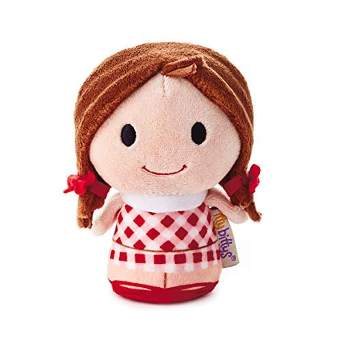 HMK Hallmark 1KDD1611 itty bittys Rudolph The Red-Nosed Reindeer, Dolly Misfit Doll Stuffed Animal