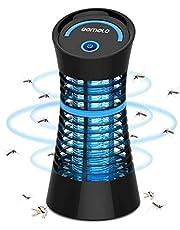 Qomolo Insectenverdelger, elektrische muggenmoordenaar, muggenlamp, insecten, moordenaar, uv-muggenvernietiger, insectenlamp voor motten, vliegen, insecten en muggen