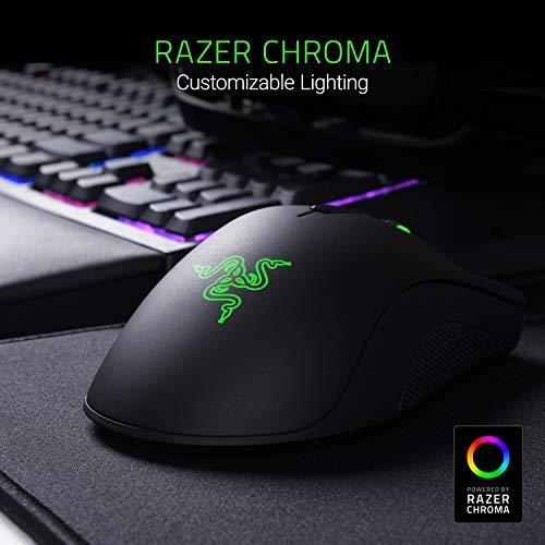 Razer DeathAdder Elite Gaming Mouse: 16,000 DPI Optical Sensor -...