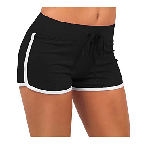Y&L Mujeres De Ejecución Cortos De Verano De La Aptitud De Jogging Pantalones Casual De Entrenamiento Pantalón Cómodo
