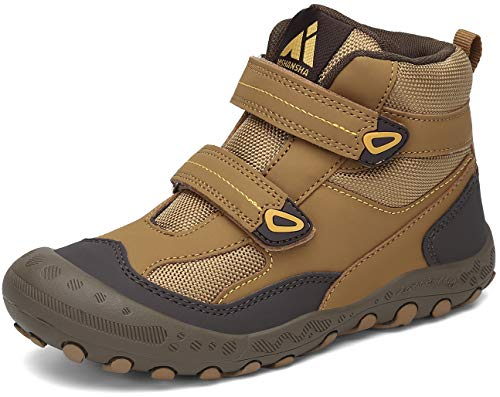 Mishansha Zapatos de Senderismo para Niños Zapatillas de Trekking Niña Antideslizante Exterior Botas de Montaña Ligero,...