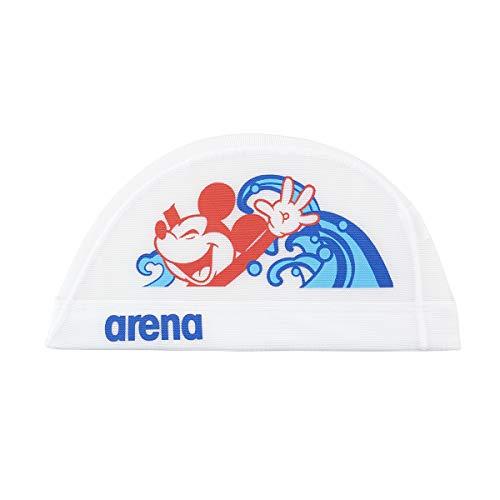 アリーナ (arena) スイミング用メッシュキャップ ディズニー パワーネット ホワイト Lサイズ DIS-0358
