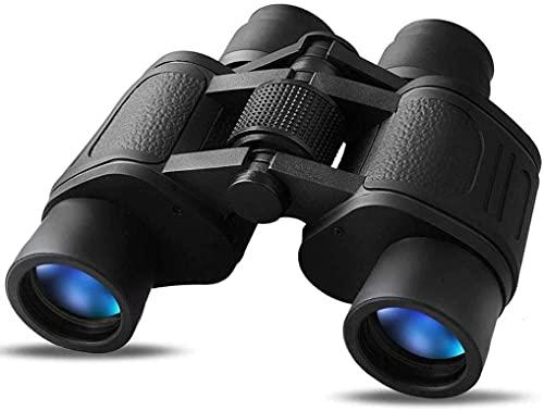RONGESAEFS binoculares prismaticos Profesionales Binoculares para Adultos Binoculares telescopios, Traveller 8X40 Telescopio de Viaje...
